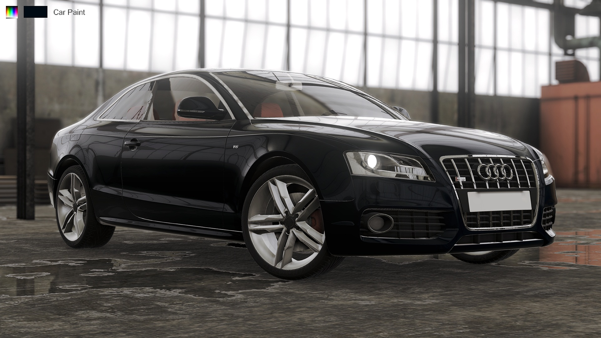 Visualization - Audi S5 2008