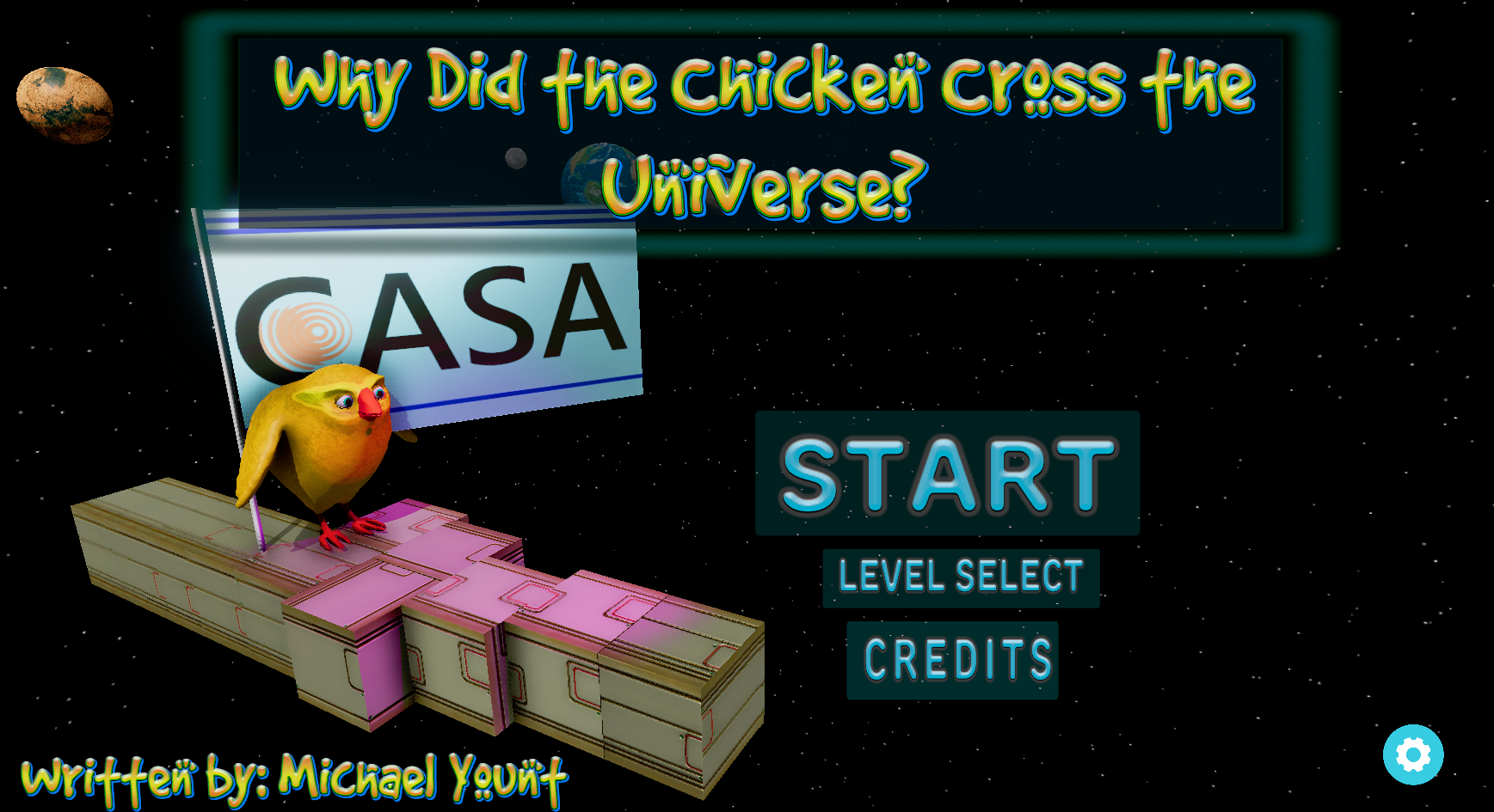 Why Did the Chicken Cross the Universe?