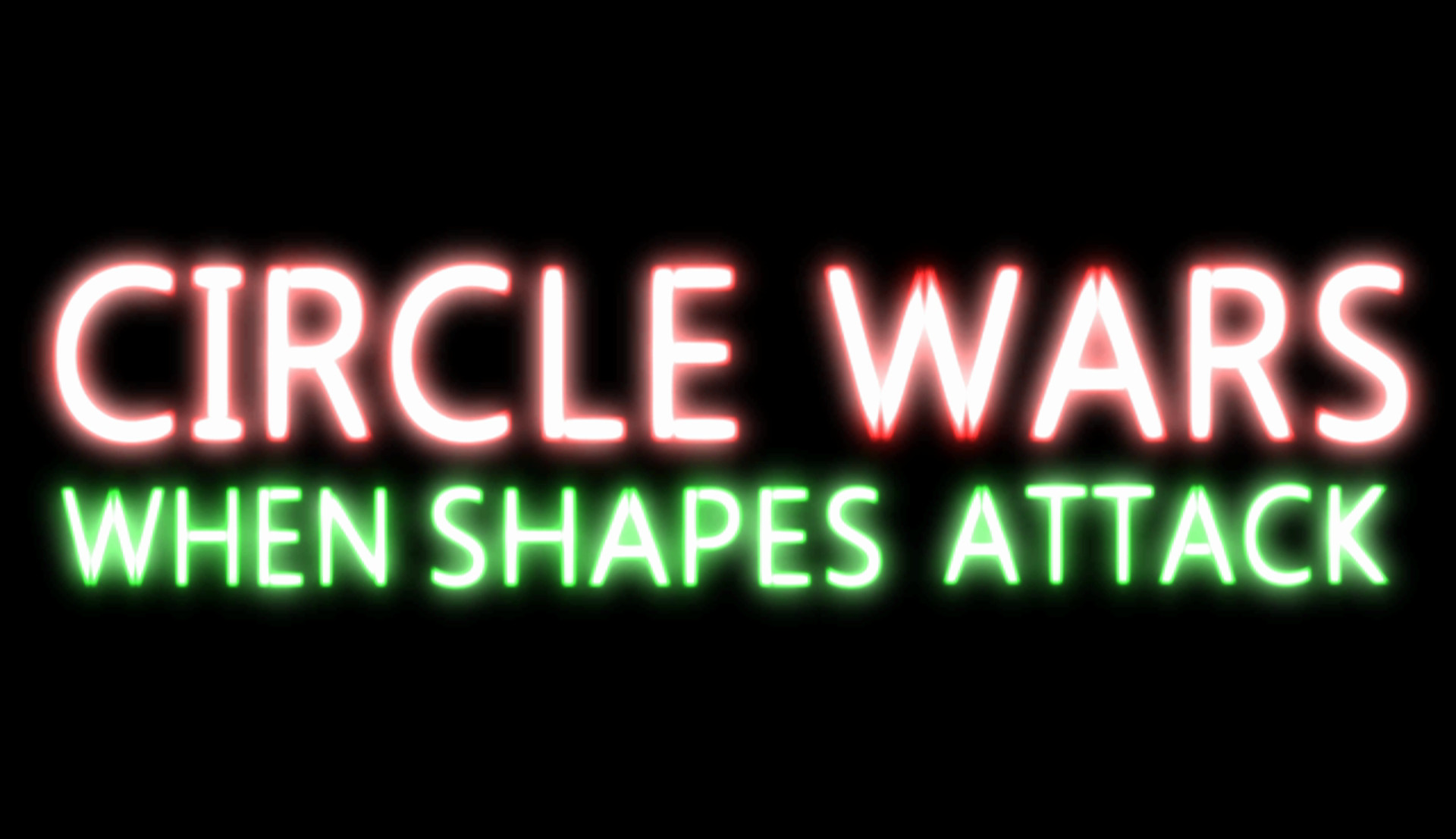 Circle Wars: When Shapes Attack