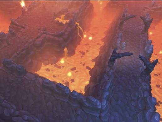 Lava Maze - Top Down