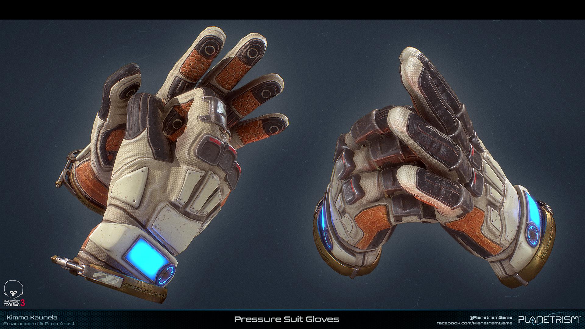 Planetrism - Pressure Suit Gloves