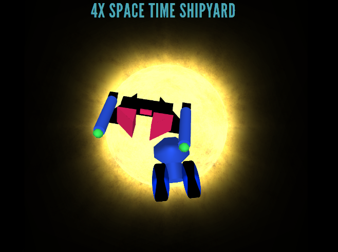 4X Space Time Shipyard