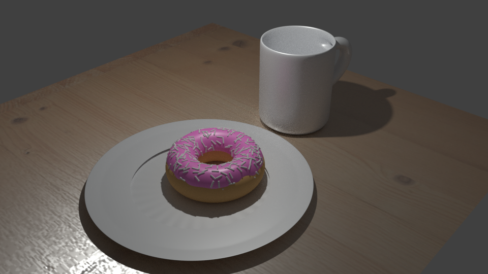 3D modelling using Blender