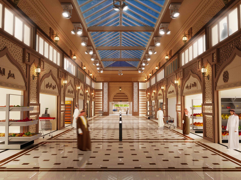 Om Salal 3D Mall Design