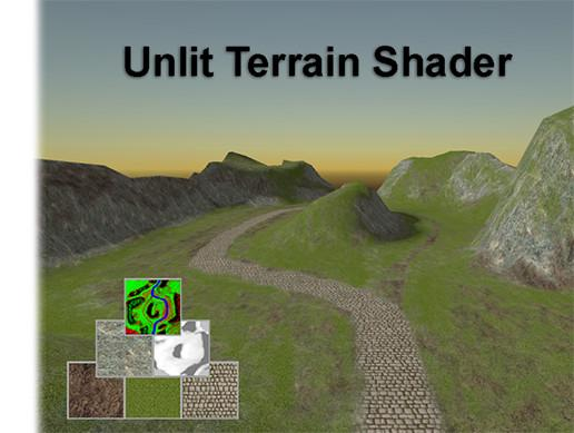 Unlit Terrain Shader