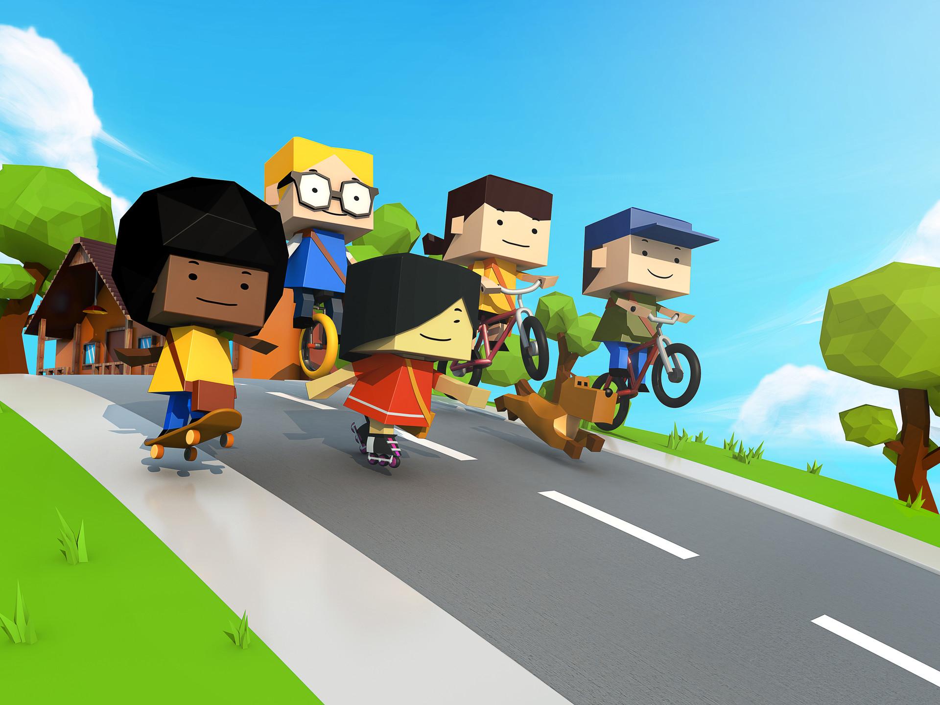 Paper Hero - Mobile Game