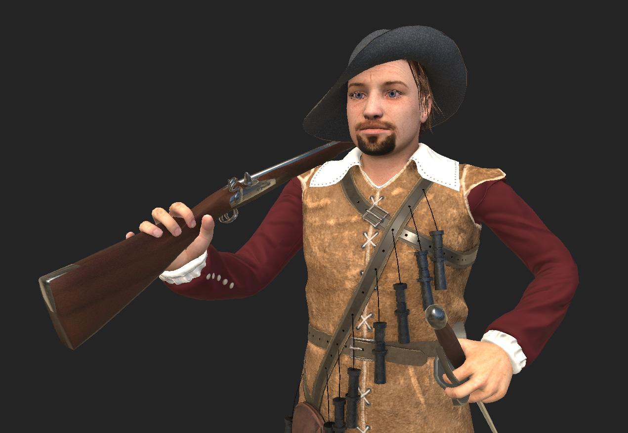 musketeer game model
