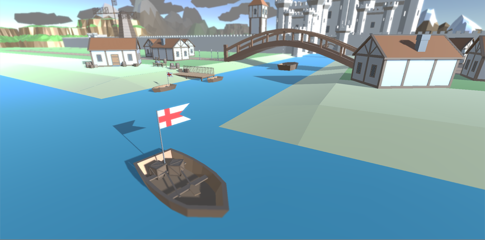 Speed Level - Medieval Port