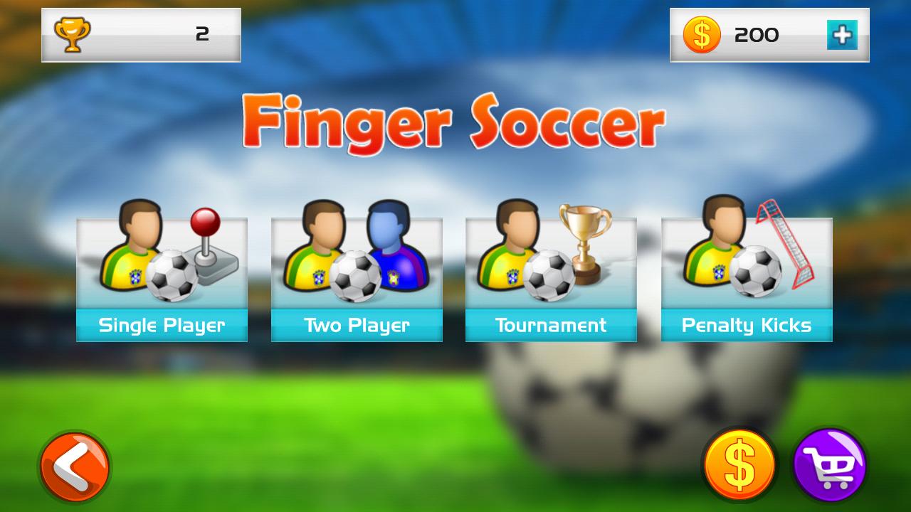 Finger Soccer Game