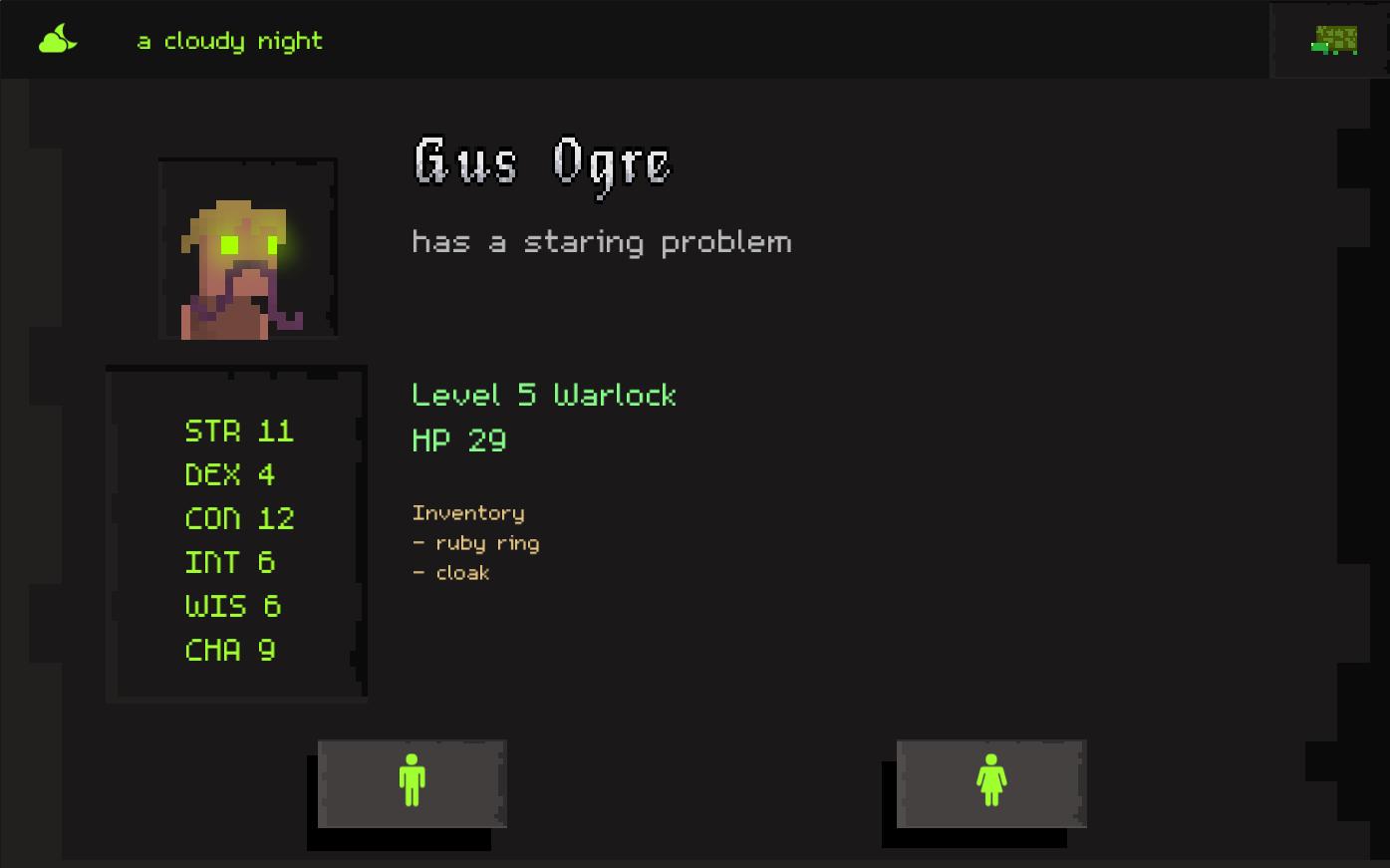 Tartle RPG Tool