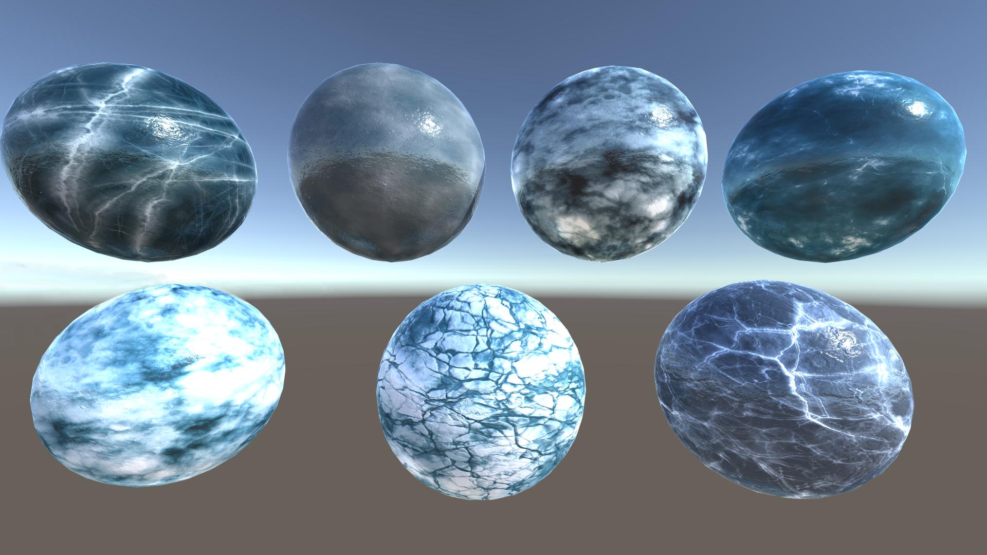 Ice World - Lake and Models shaders, textures