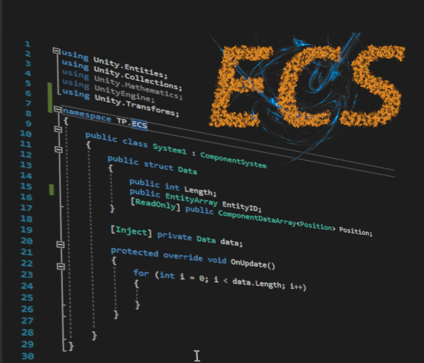 Part 1: Unity ECS - briefly about ecs
