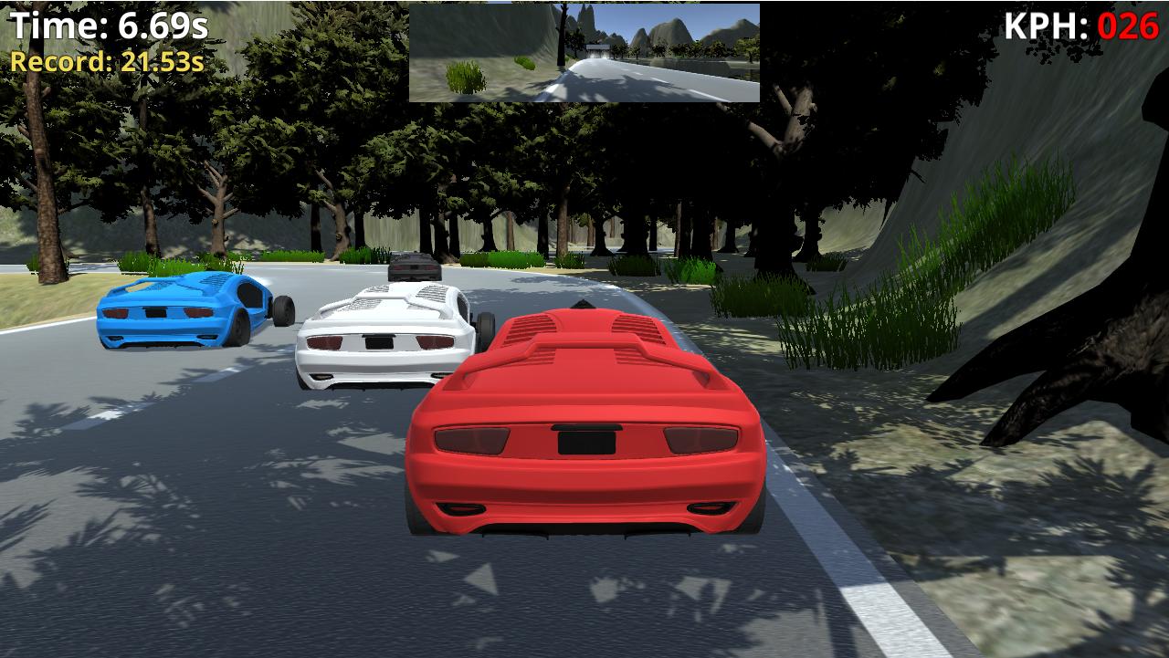 Juego de carreras (Extreme Racing)