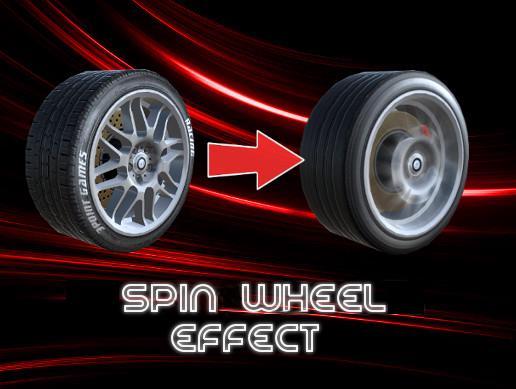 Spin Wheel Effect