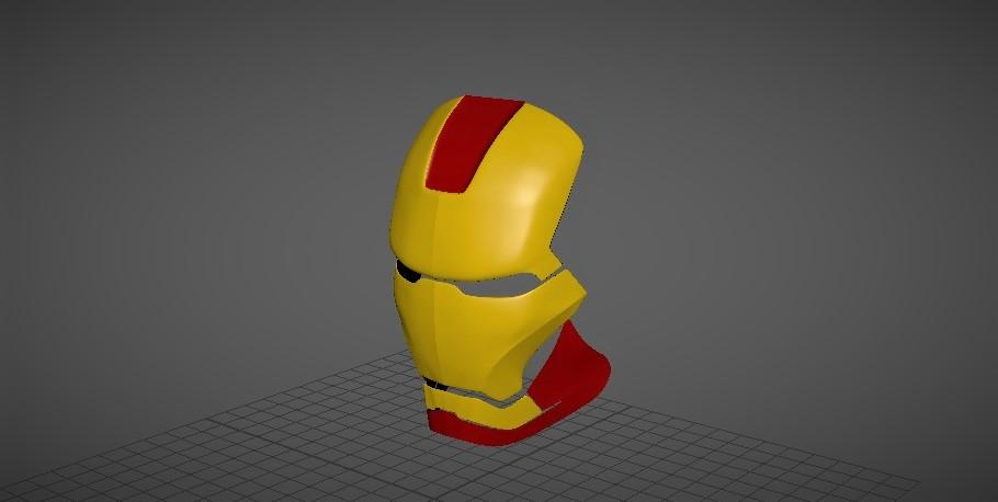 Iron Man Helmet Face