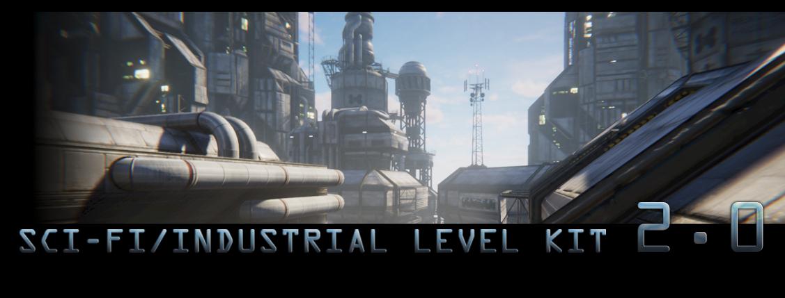 Sci-Fi / Industrial Level Kit v2.0