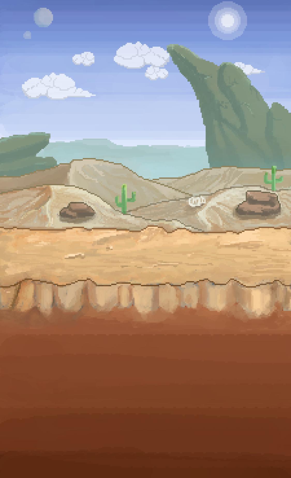 2D Game Backround Art