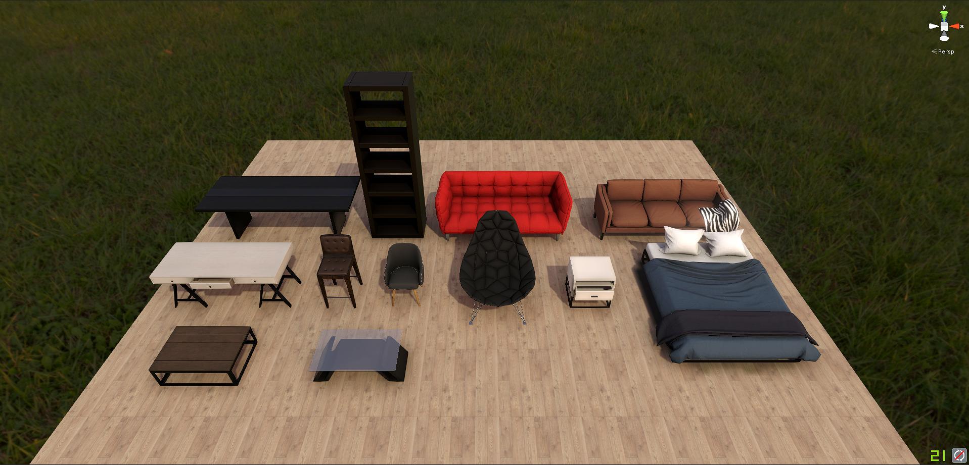 Modern Furniture Pack