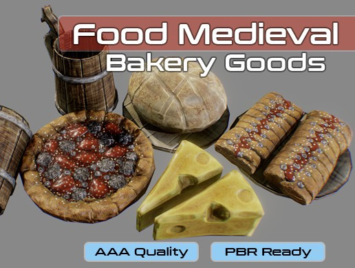 Medieval Bakery Food