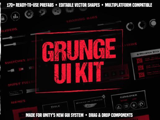 Grunge UI Kit