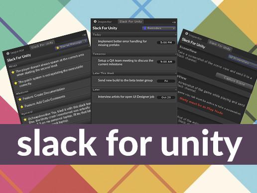 Slack For Unity