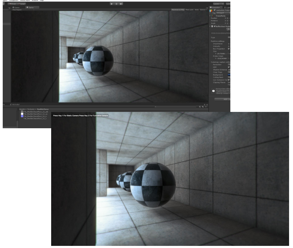 Test Renderer - Unity 5 Physical Based Rendering