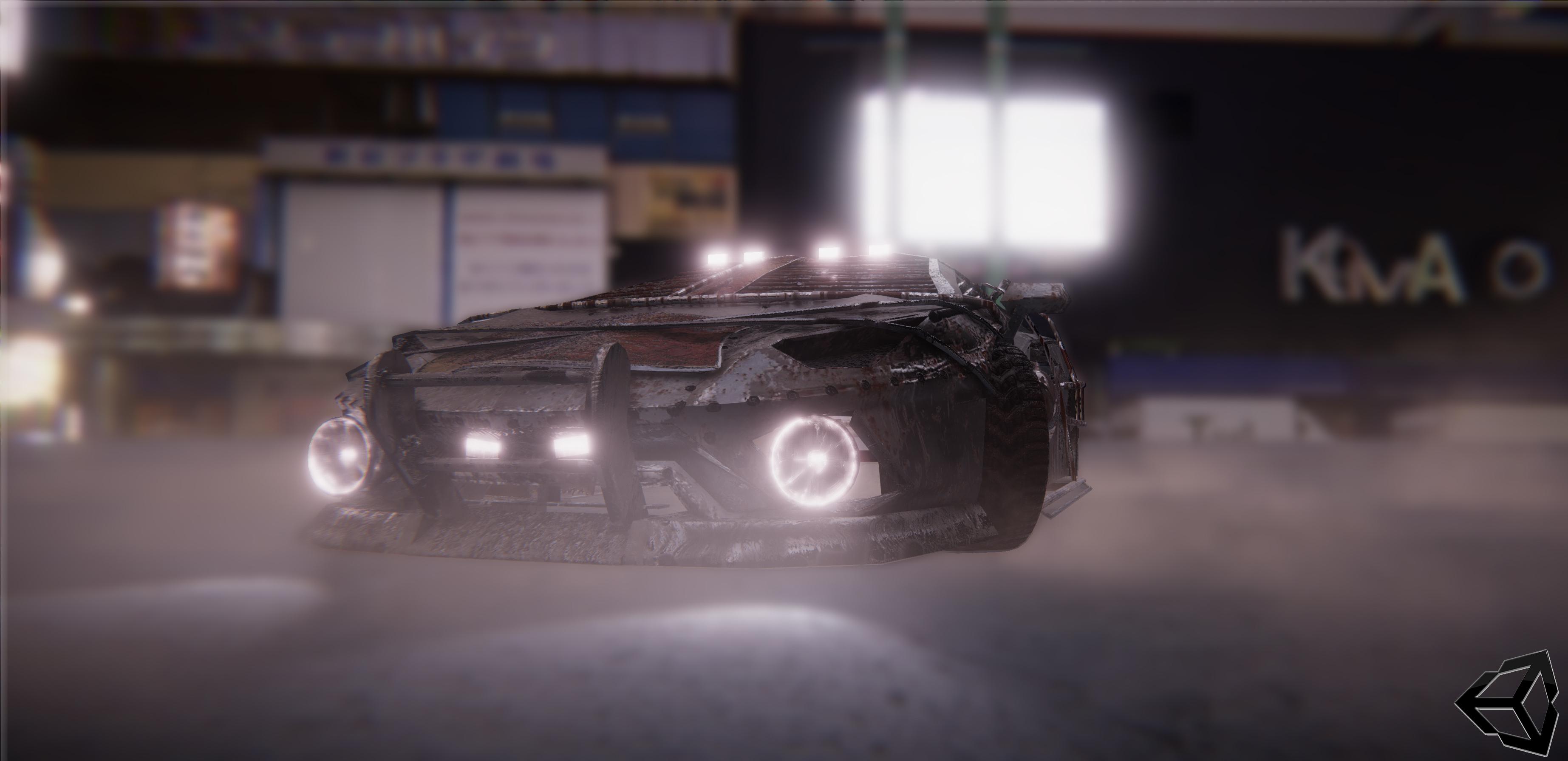 Lamborghini Aventador S madmax version