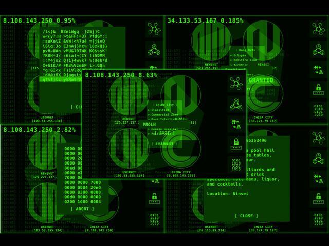 CyberNet iOS Game