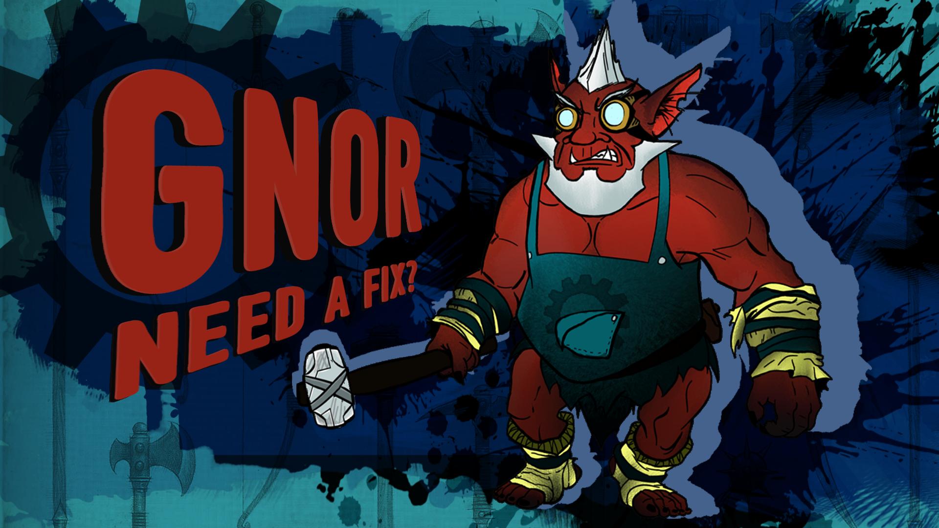 Gnor - Character Design