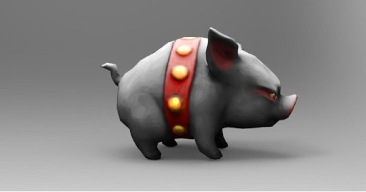 Piglet GameCharacter