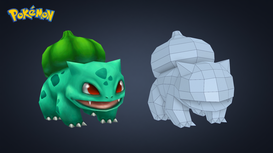 Low Poly / Hand Painted