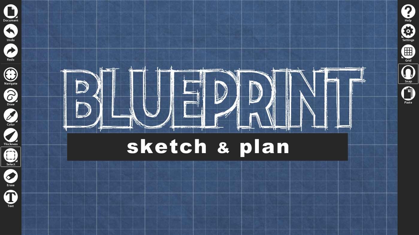 Blueprint Sketch