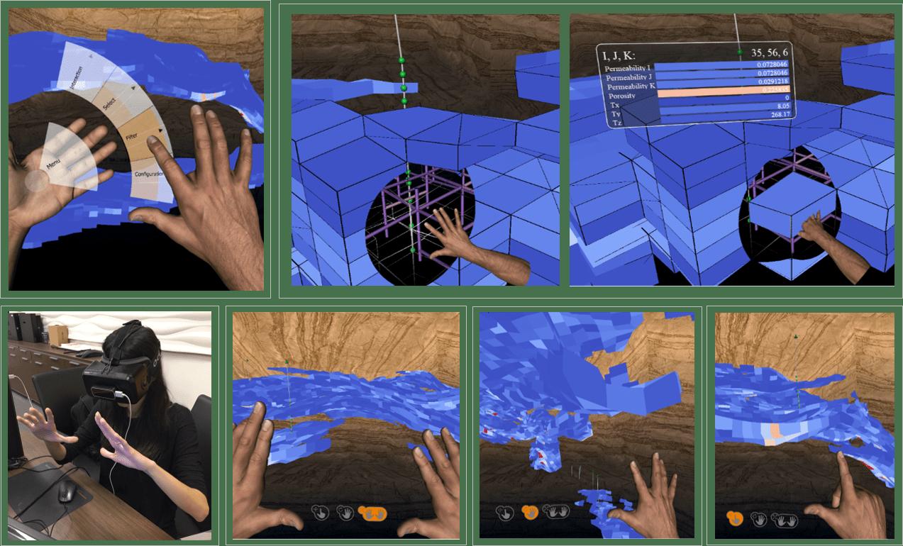 VR in Petroleum Engineering | Oculus Rift & Leap Motion
