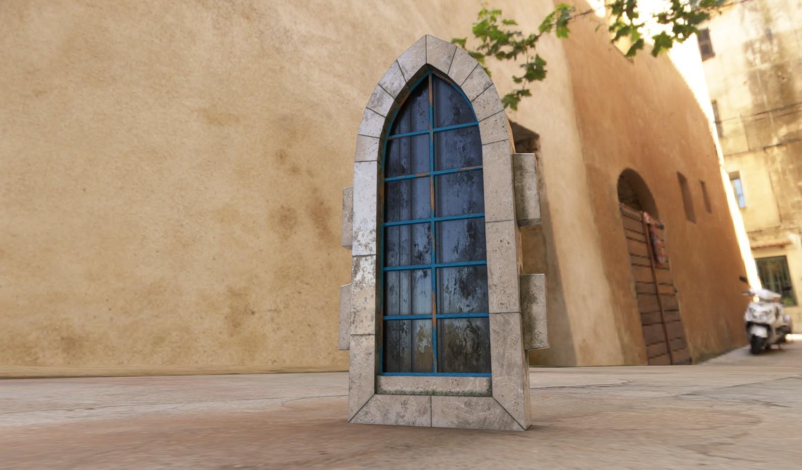 Modular Windows for Medieval game level