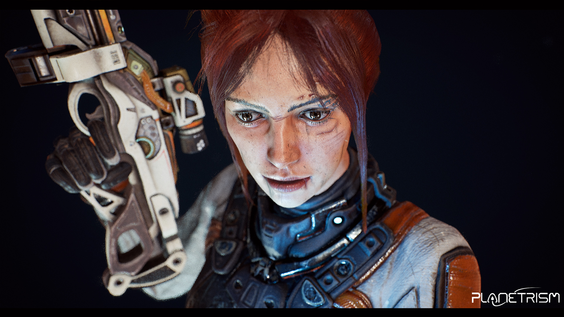 Planetrism - Real-Time Female Character
