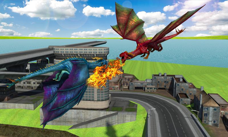 Flying Dragon Mania Simulation