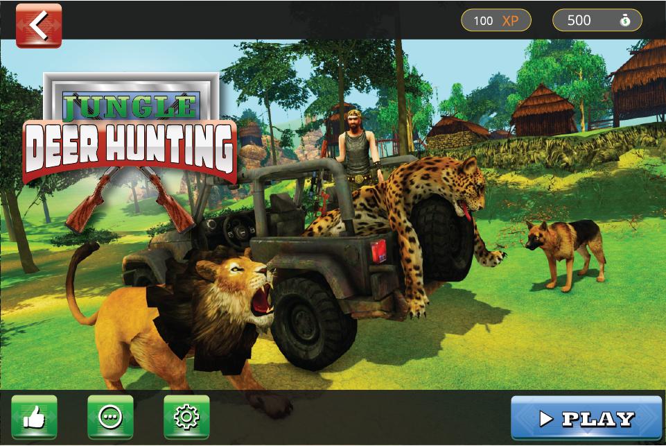 Deer Hunting Game Jungle Adventure 3D