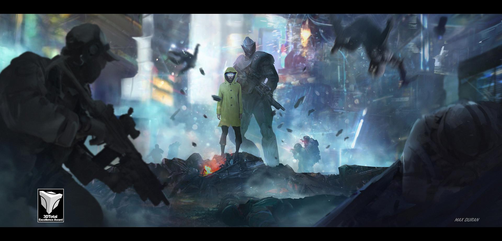 Beyond Human - Keyframe Concept Art #4