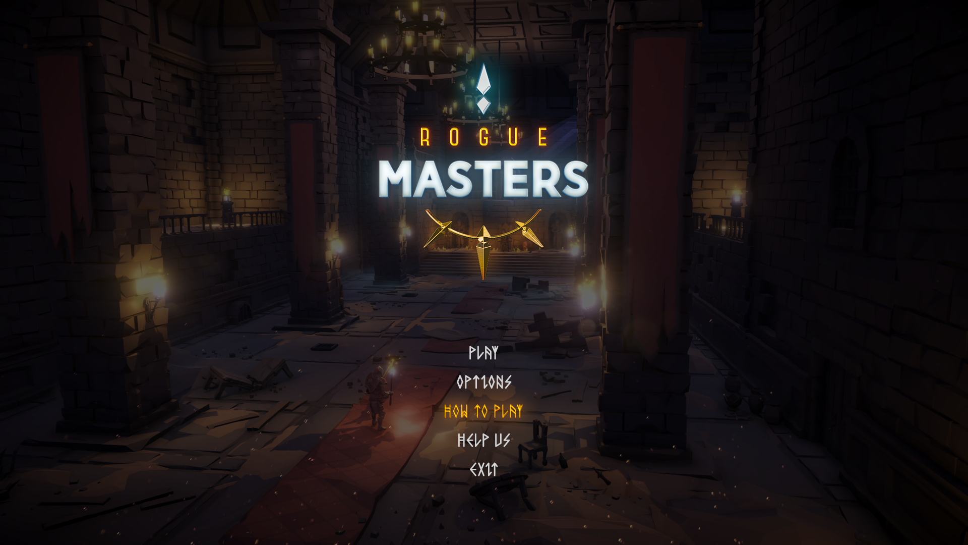 Rogue Masters - User Interface
