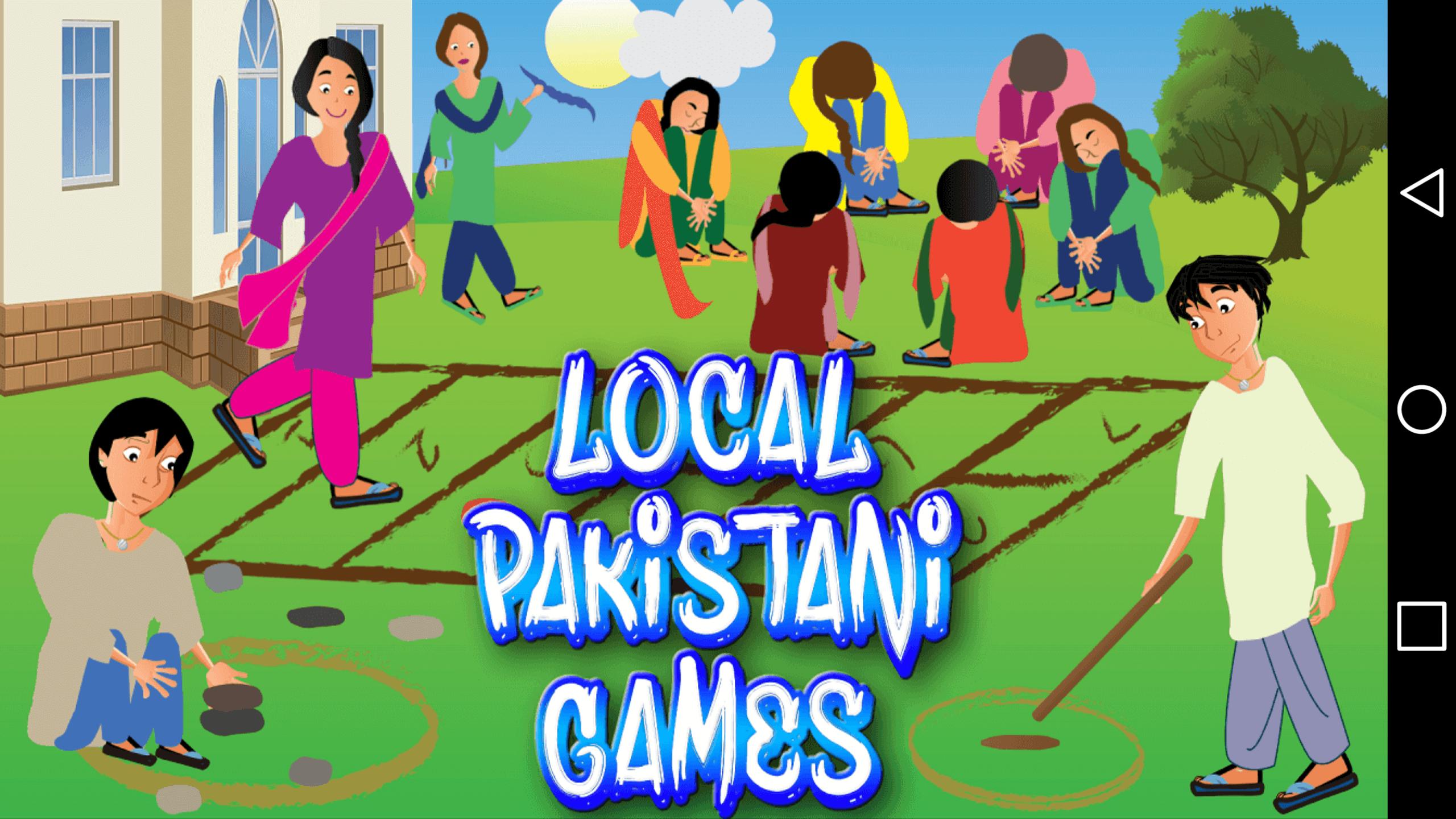 Local Pakistani Games