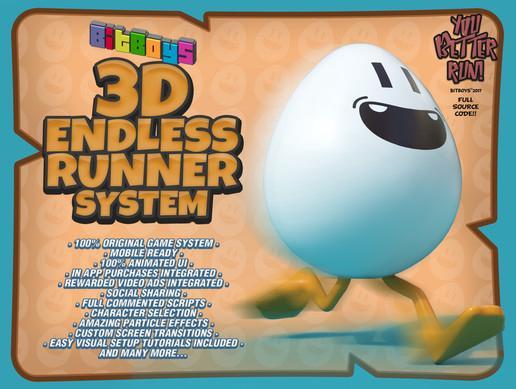 Bitboys 3D Endless Runner System