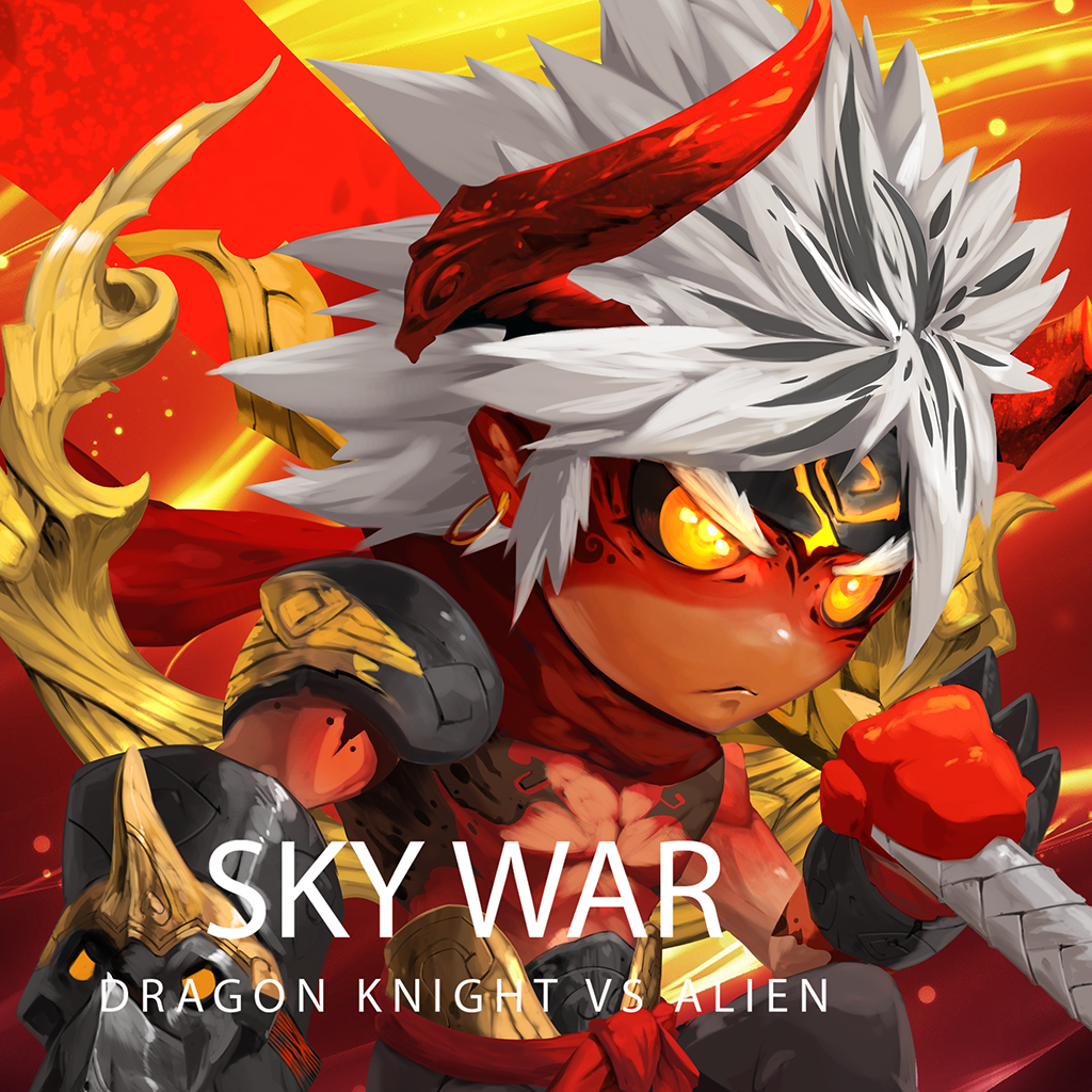 Sky War : Dragon Knight VS Alien