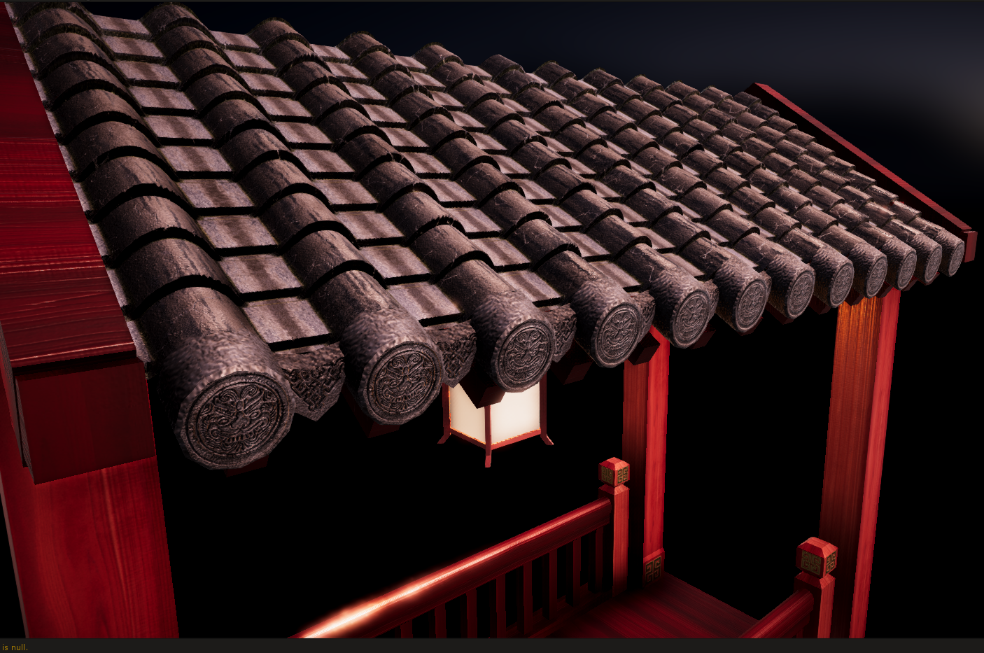 Classical Chinese Building Roof Tile