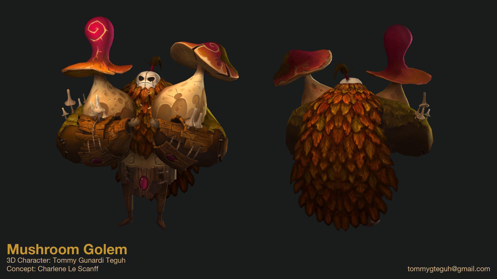 Mushroom Golem