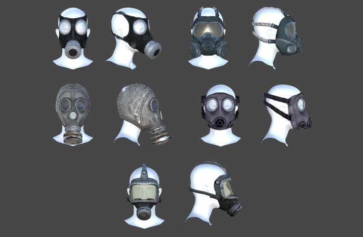 Gas Mask Pack