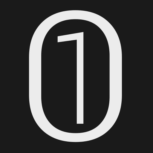 Binary 01