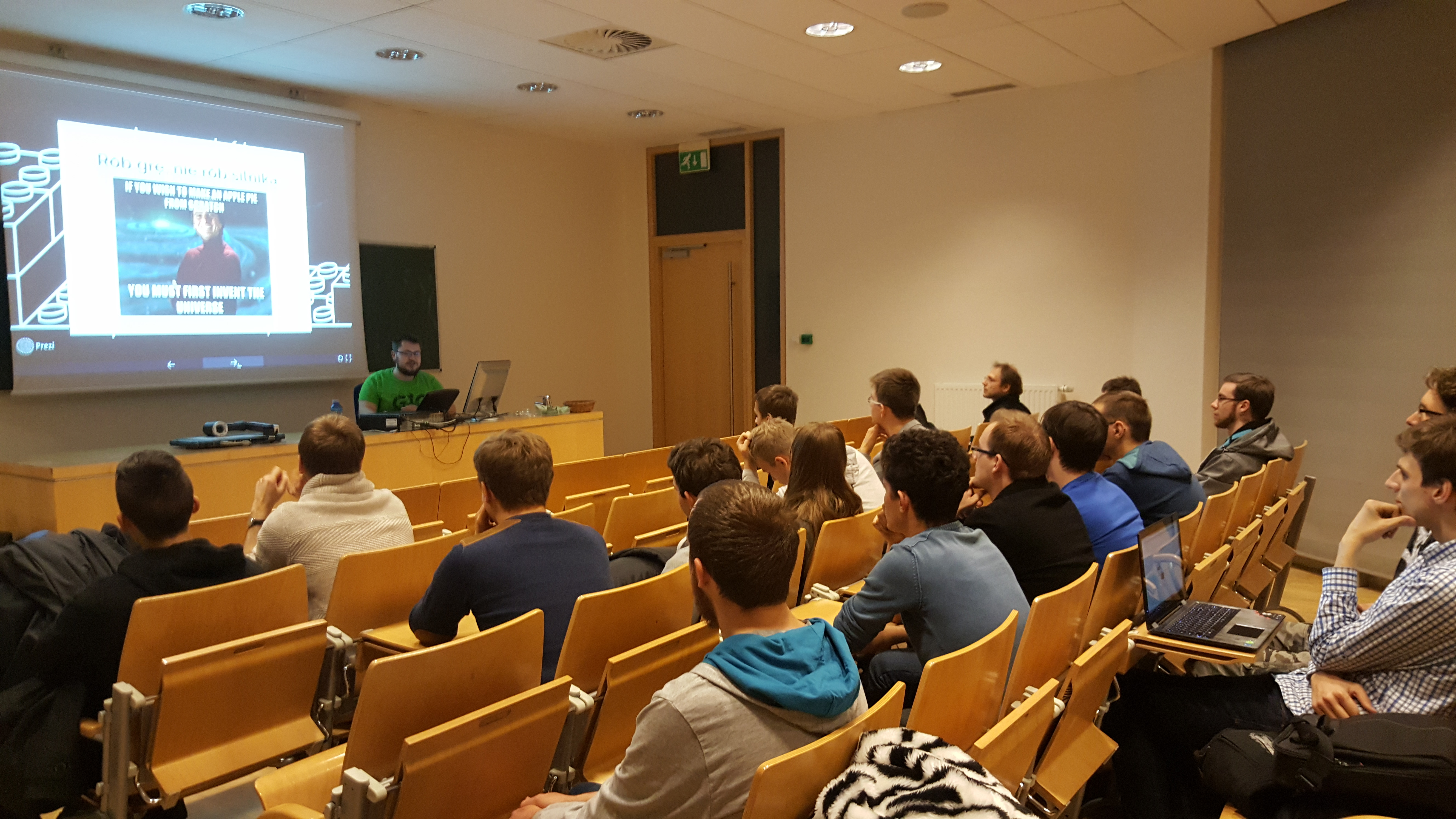 Lectures at the Poznan University of Technology