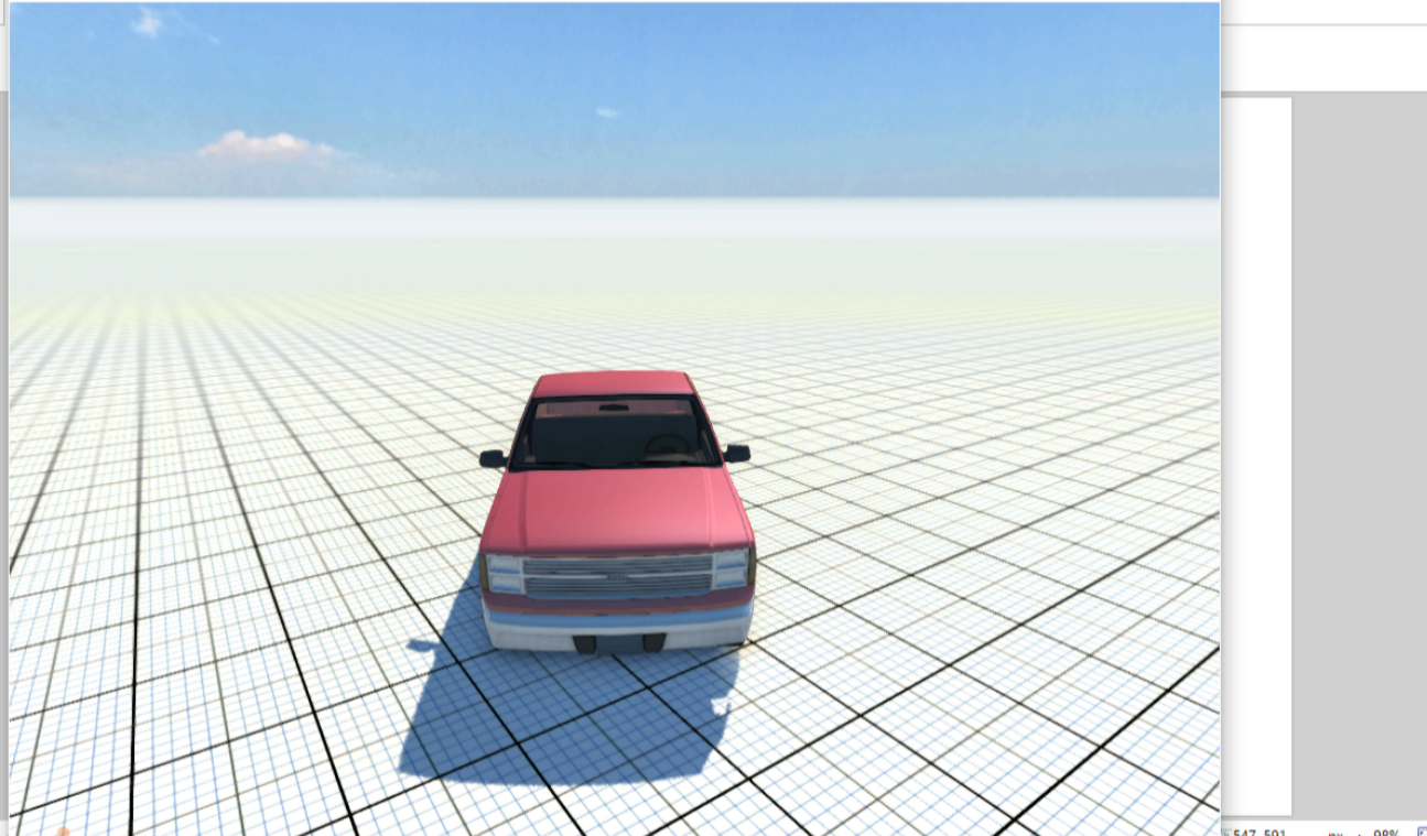 My first car design like beam ng game car