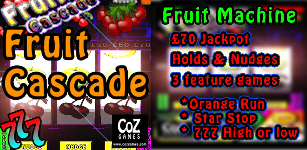 Fruit Cascade, Slots