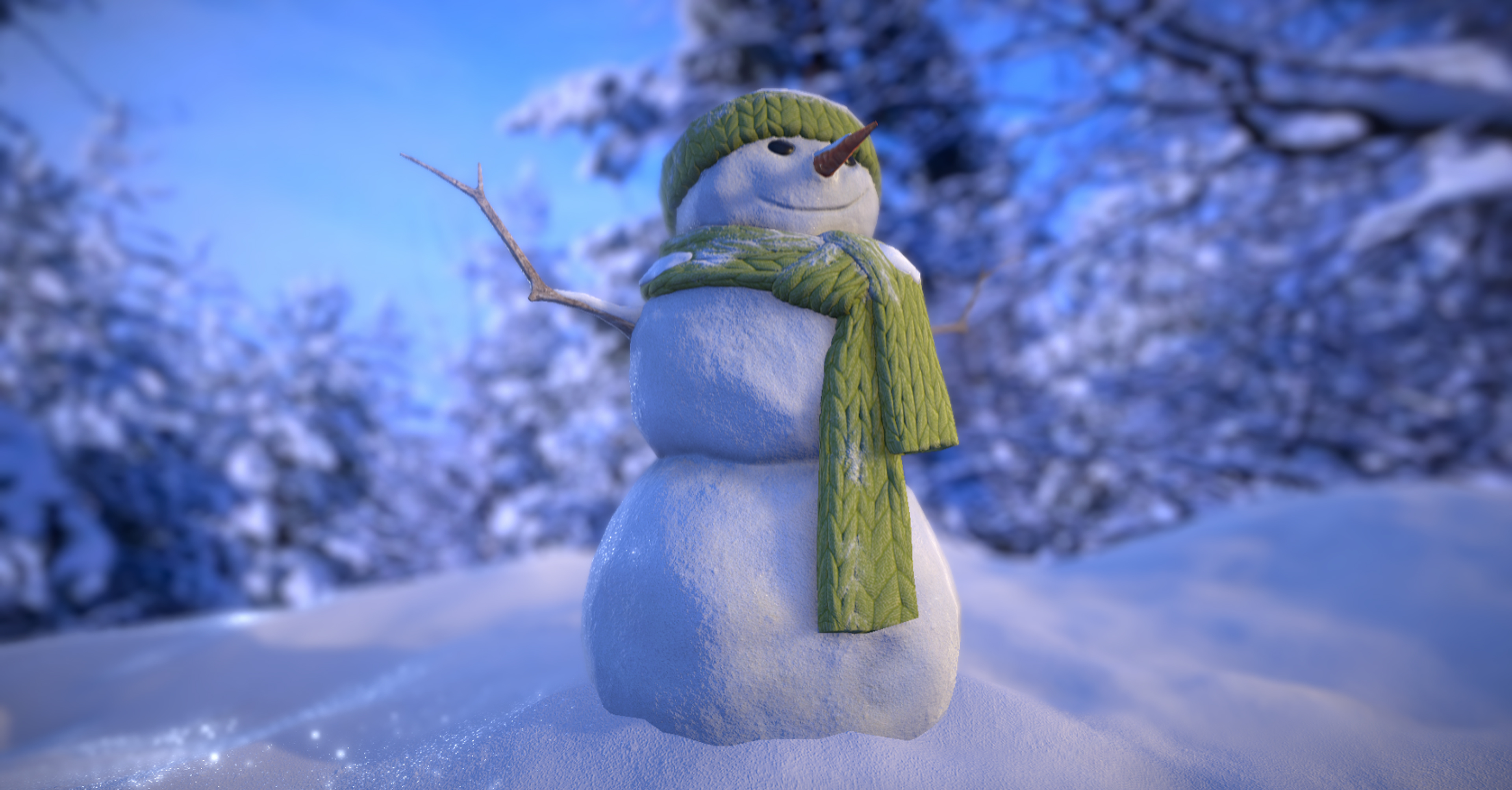 FREE Snowman - Unity Asset Store